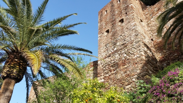It was a beautiful day to see the alcazaba